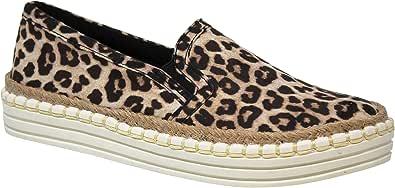 MVE Shoes 女式一脚蹬时尚运动鞋 - 女士舒适鞋