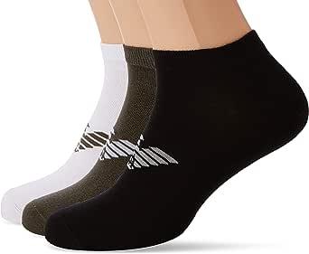 Emporio Armani 安普里奥·阿玛尼男式平棉短袜 3 双装