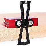 燕尾标记 - 木燕尾工具 - 手工木工工具 - 精确燕尾导轨,1:5,1:6,1:8和1:10斜度 - 超大主体 - 人…