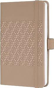 SIGEL J0200 Weekly Diary 2020 Jolie,约 A6,硬盖,天鹅绒 approx. A6 (9,5 x 15 cm) approx. A6 (9,5 x 15 cm) 棕色