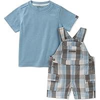 Calvin Klein 卡尔文·克莱恩 男童 双面布上衣和梭织连衣裤