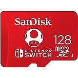 SanDisk 闪迪 用于任天堂Switch的SDSQXAO-128G-GNCZN microSDXC UHS-I卡,1…