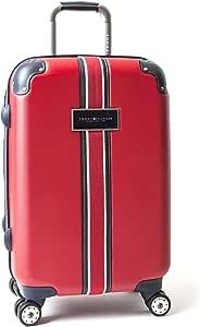 Tommy Hilfiger 经典硬边 21 英寸可伸缩硬边转盘行李箱 红色 均码