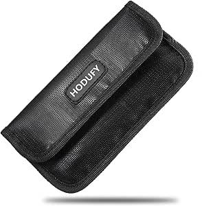 防火 Faraday 袋,护照夹防火*钥匙扣保护套,RFID 信号屏蔽 GPS 手机袋,汽车钥匙,信用卡隐私保护,防盗钱包保护套 type-02