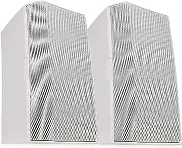 QSC AD-S6 6.5 英寸小尺寸,表面安装扬声器 - 一对
