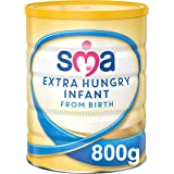 SMA Nutrition Extra Hungry 婴儿奶粉,800克(6件装)