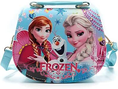 HXQ Toy 女童斜挎包,公主手提包,适合儿童 中 Blue3