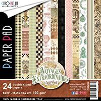 """Ciao Bella Voyages Extraordinaires Dbl-Sided 纸 90lb 6""""X6"""" 24…"""