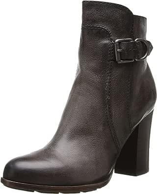 FRYE 女士 Parker D 环短靴 炭黑色 5.5 M US