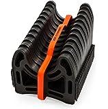 Camco RV Sidewinder 塑料下水管软管支撑 20 英尺 43051