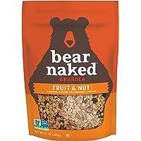 Bear Naked 格兰诺拉麦片袋,水果和坚果,12 盎司(约 340.2 克)(6 袋装)
