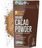 LIVfit Superfood 可可可粉 1 磅, 可可可粉,享受美味无关巧克力食物,可用于Cocoa,由 Bette…