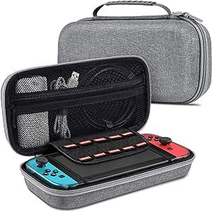 BEBONCOOL Nintendo 任天堂 Switch 手机壳 手提包 开关 收纳盒 便携式 保护开关 旅行手提箱 硬壳 袋 切换包 任天堂 Switch主机 & 配件