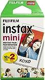 Fujifilm 拍立得 迷你单色胶片INSTAX MINI Twin Pack 仅两件套 20 Sheets *