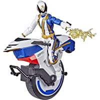 Power Rangers 闪电系列 S.P.D. Omega Ranger 和 Uniforce Cycle 车辆 15 厘米 适合4岁以上收藏 带配件
