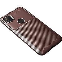 CruzerLite 谷歌 Pixel 4a 手机壳,碳纤维纹理设计手机壳防刮防震手机壳适用于 Google 谷歌 Pi…
