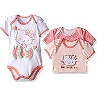 Hello Kitty 女婴核心粉红连体衣