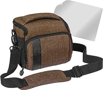 pedea 单反相机包适用于 sony slt-a58K / -a58y 与时尚设计 / Canon EOS 1100D / Nikon COOLPIX 80d P 900/ Panasonic LUMIX DMC-FZ 1000带屏幕保护