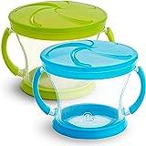 Munchkin 2 件零食收集器 蓝色/绿色
