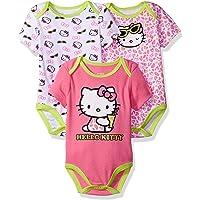 Hello Kitty 婴儿女童3件装 boysuits