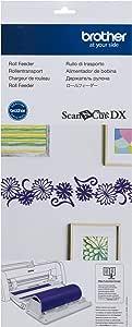 BROTHER International Corporation CADXRF1 ScanNCut DX 卷式喂食器,白色