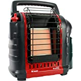 Mr. Heater F232000 MH9BX Buddy 4,000-9,000-BTU 便携式室内丙烷加热器,红黑