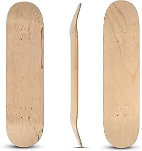 rabd Blank 滑板甲板天然美国枫木 81.28 cm x 20.32 cm