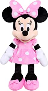 Disney 经典粉红色米妮中号毛绒玩具
