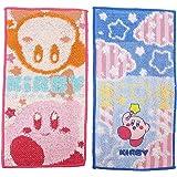 丸真 口袋毛巾 2条装 任天堂 星之卡比 10×20cm 粉色 *防臭处理 4585002300