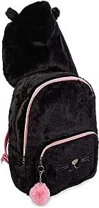 连帽背包旅行包,带有可爱的兜帽设计 Meowgical Kitty Cat 均码