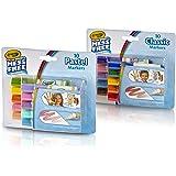 Crayola Color Wonder 彩色马克笔,经典和粉彩(20 支)(2 支装)