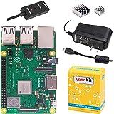 CanaKit 覆盆子Pi 3 B+(B Plus)带 2.5A 电源(UL 认证)