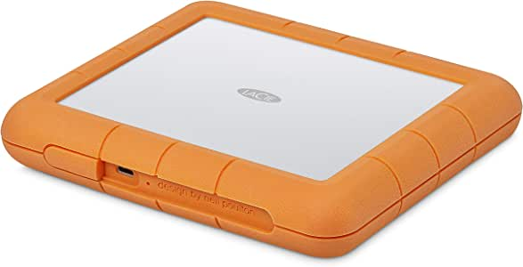 LaCie Rugged Thunderbolt USB-C 500GB SSD 固态硬盘 便携式STHT8000800 RAID Shuttle 8TB