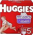 HUGGIES Little Movers 纸尿裤 NEW Economy Plus Pack 5 124