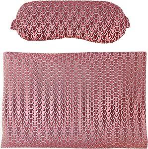 KOKICOGINE 快眠商品 eypiro&热垫 豆沙 红色 8×21.5/20×30cm 184954