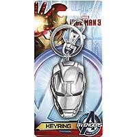 Marvel 钢铁侠 3 头锡钥匙圈 均码 多色