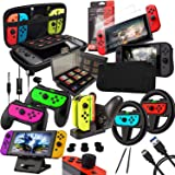 Switch Accessories Bundle - Orzly Geek Pack for Nintendo Swi…