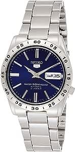 Seiko 男士模拟自动手表不锈钢表链 - SNKD99K1