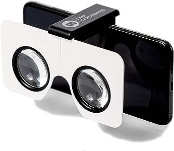 Pocket 360 - 紧凑虚拟现实查看器,适用于 iPhone和安卓智能手机 - WWGC 通过 Google 认证4336701819 黑色