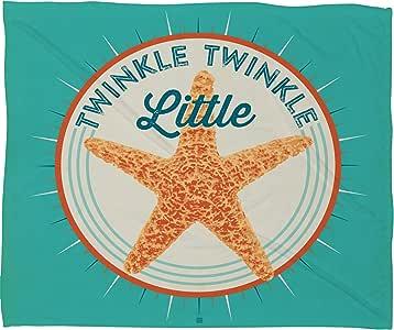 Deny Designs Anderson 设计羊毛毯 Twinkle Twinkle Little Star 60 by 50-Inch 52091-flemed