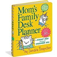 """Mom's Family Desk Planner 2021 [6.25"""" x 7.25"""" 英寸]"""