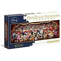 Clementoni 39445 Panorama 系列 - 迪士尼乐队 - 1000 件,多色
