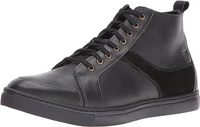 Stacy Adams 男士 Winchell 莫卡辛鞋头高帮靴 黑色 7 M US