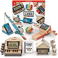 Nintendo 任天堂 Labo 游戲機配件 variation_p , 1) バラエティ キット, 1) ソフトのみ…