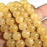 父母- 8mm 平滑圆形 40.64cm Golden Selenite (From Morocco)