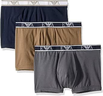 Emporio Armani 安普里奥·阿玛尼男式交织平角内裤 3 件套