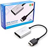 PS2 HDMI / PS2 AV 电缆 适用于所有索尼 PlayStation 2 型号 - 内置开关用于在 RGB 或组件之间切换 - PS2 转 HDMI 转换器允许任何 PS2 连接到任何高清电视 - Kaico