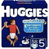 Huggies 好奇 Overnites 婴儿晚间纸尿裤 尺码4 共128片
