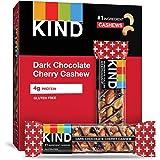 KIND 能量棒,黑樱桃巧克力腰果 + Antioxidants,无麸质,1.4盎司(40克),12条