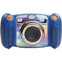 VTech 伟易达 KidiZoom Duo 儿童照相机 - 蓝色 3岁-9岁